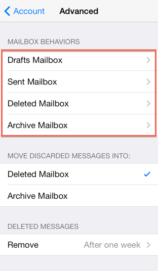 add mailbox to iphone email application setup ios devices 3250